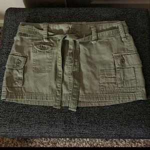 💚 Cargo mini skirt